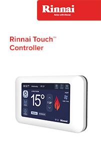 rinnai touch controller brochure