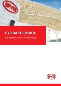 byd battery box brochure - solar battery adelaide