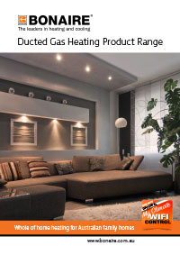 bonaire ducted gas brochure cover