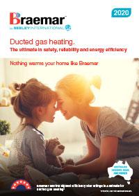 braemar ducted gas brochure cover