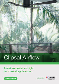 link to clipsal airflow brochure