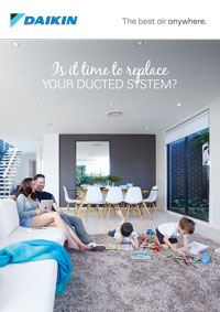 is it time to replace your ducted system brochure