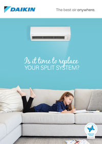 is it time to replace your split system brochure cover