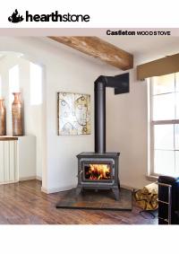 hearthstone wood heater brochure cover