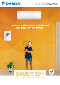 daikin split systems brochure cover