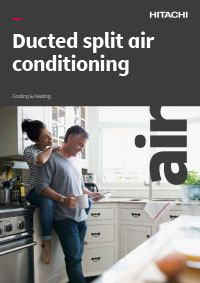 hitachi ducted air conditioning brochure