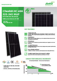 jinko solar brochure cover