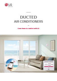 LG ducted air conditioners brochure