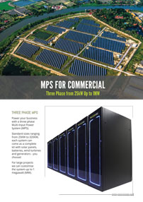 MPS Commercial energy storage system