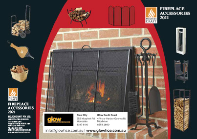 melton fireplace accessories brochure cover
