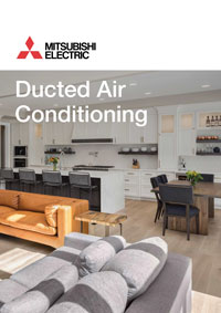 mitsubishi ducted air conditioning brochure