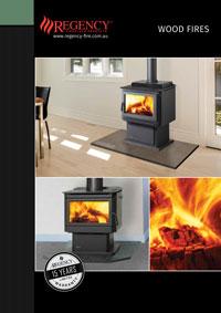 regency wood fires brochure cover