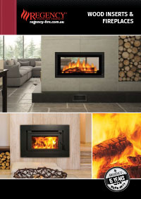 regency wood inserts and fireplaces brochure cover