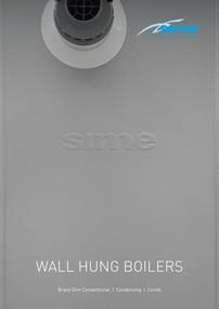 link to sime wall hung boilers brochure