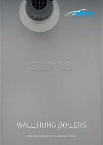 sime wall hung boilers brochure cover