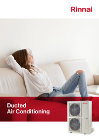 rinnai ducted air conditioning brochure