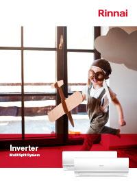 rinnai inverter brochure cover