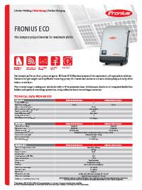 fronius eco brochure