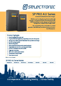 bi-directional inverter charger selectronic brochure