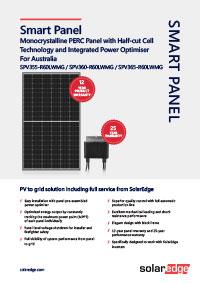 solaredge brochure cover