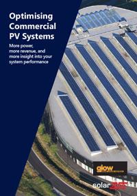 Commercial solar panel monitoring brochure