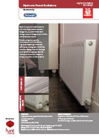 link to delonghi radiators brochure