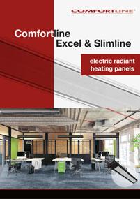 Link to view Comfortline Excel and Slimline radiant heating panels brochure