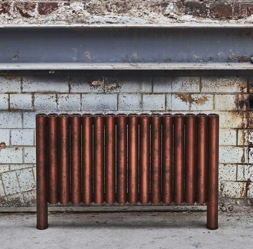 Rust look radiator
