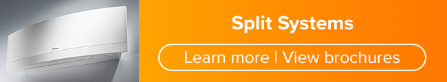 Link to learn more about split systems and view brochures