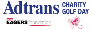 adtrans charity golf day eagers foundation logo