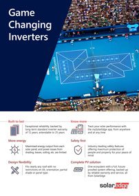 Game Changing Inverters flyer