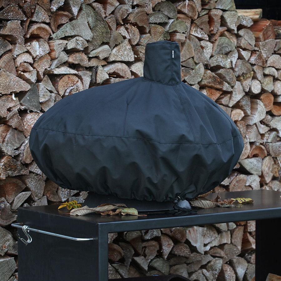 Morso Forno grill and outdoor oven black cover
