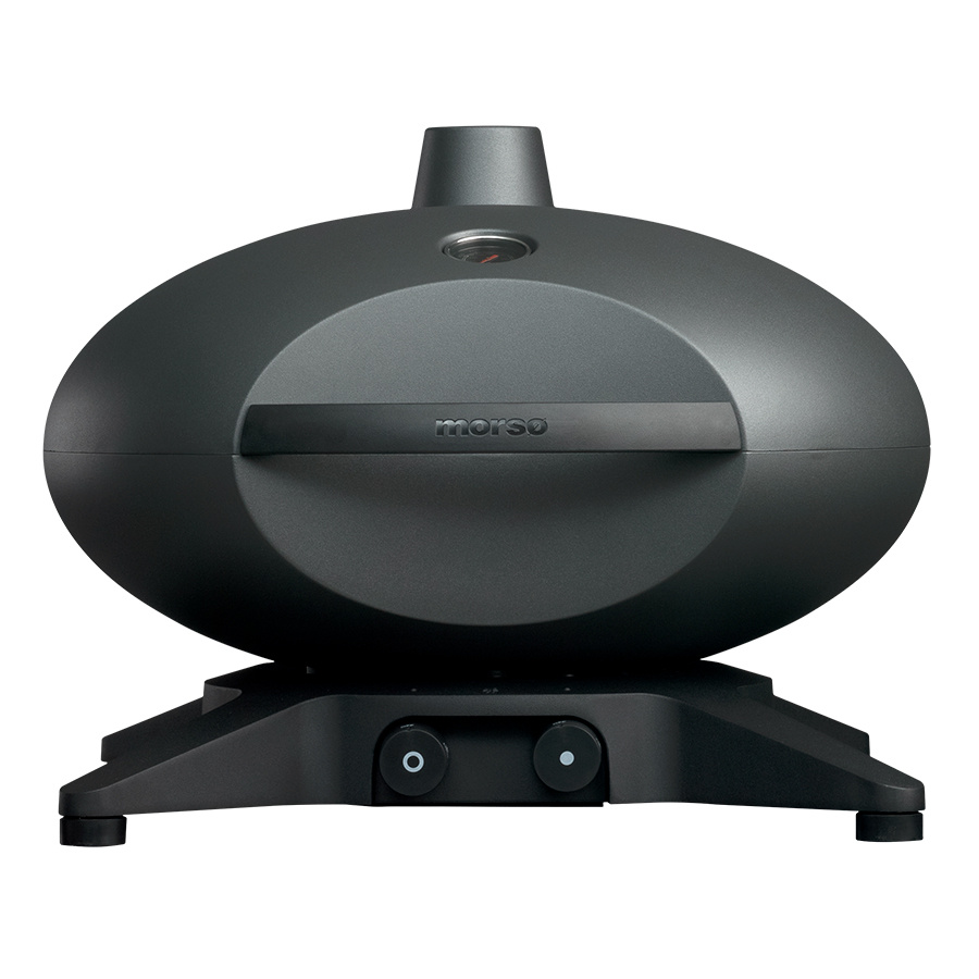 Morso gas barbecue with lid closed