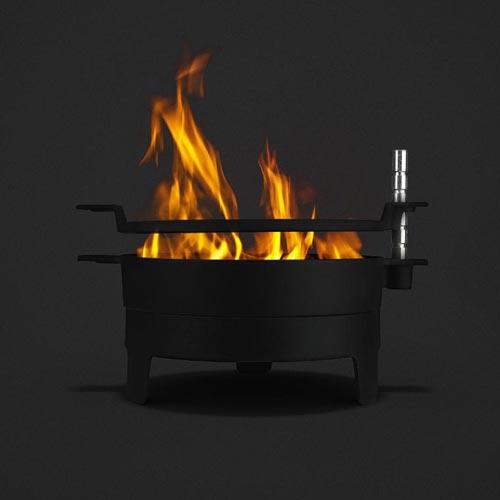 Morso fire grill table top