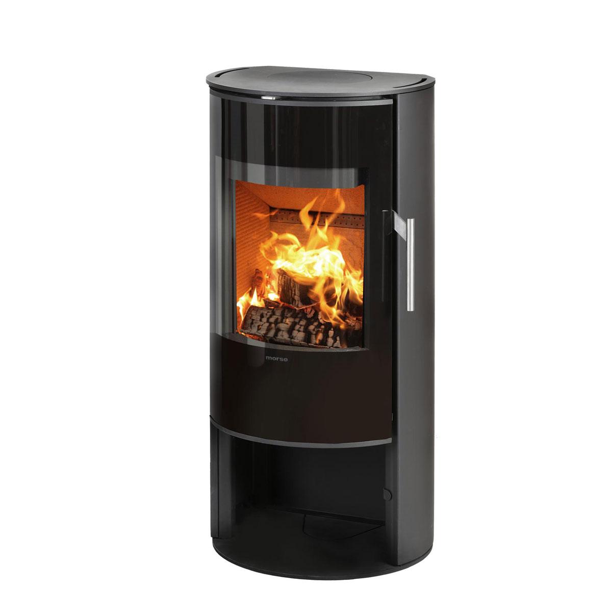 Morso 4143 freestanding wood fire with door
