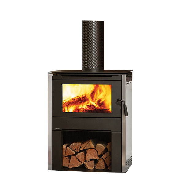 Regency Alterra wood heater on white background
