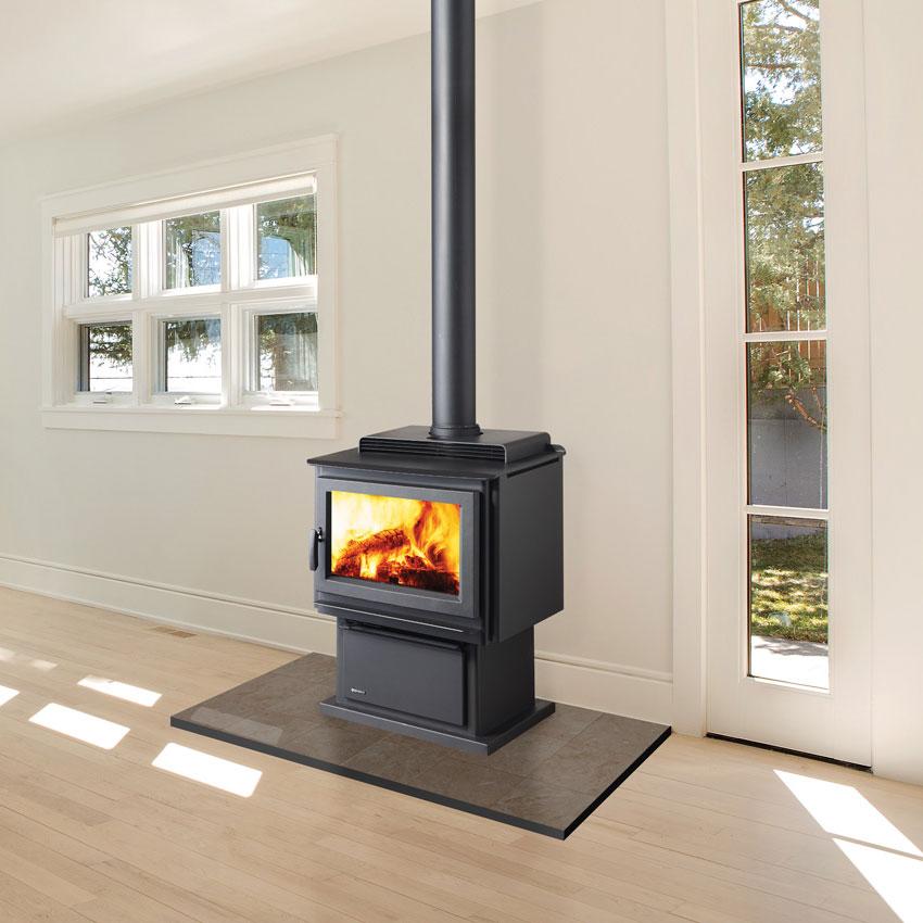 Regency Kingston wood fire with flue