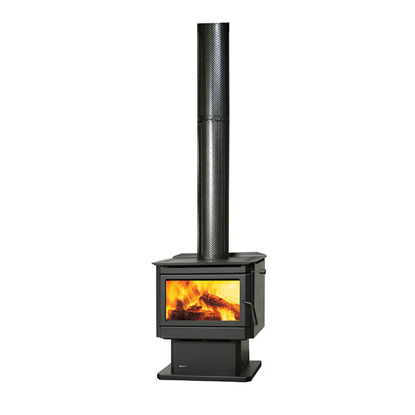 Regency Renmark wood heater on white background