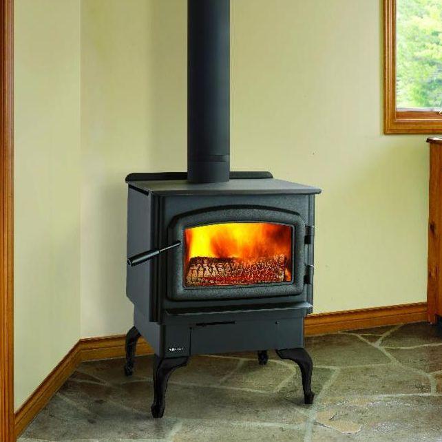 Regency wood fire